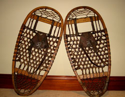 Bear Paw Snowshoes from Northern Canada