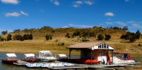 Snowline Caravan Park Boat Hire - Lake Jindabyne