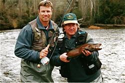 Steve Williamson & ET - River Guiding
